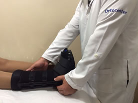 Sala de procedimentos 1 - Imobilizações ortopédicas e órteses